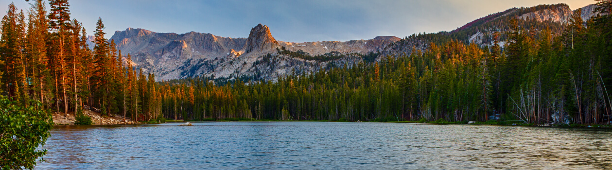 Fishing the Mammoth Lakes basin and Crystal Crag